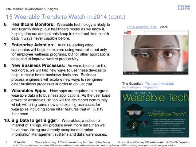 Wearable Computing A 2014 Horizonwatching Trend Summary