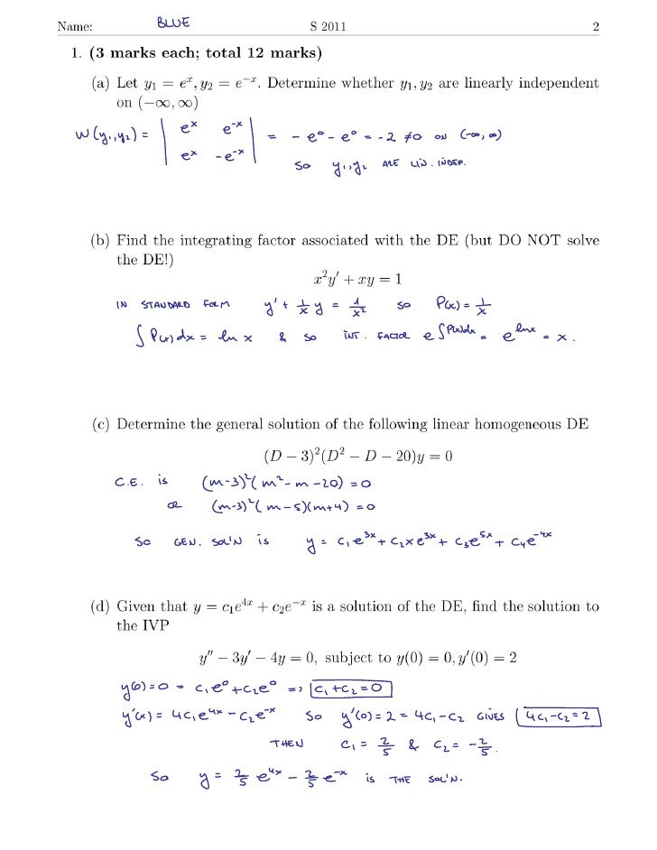 S11 ode  midterm_blue_solution