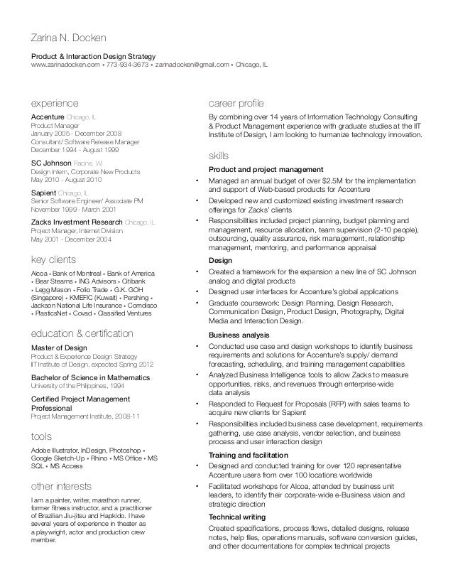 uconn resume template