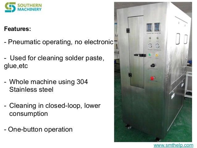 stencil cleaner machine