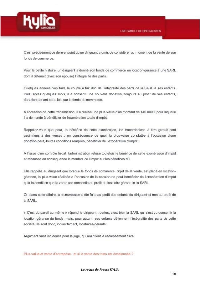 S17 Revue De Presse Kylia Semaine Du 16 Au 22 Avril 2018