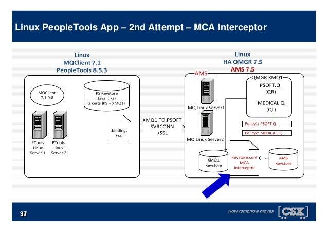 3737373737373737 Linux PeopleTools App – 2nd Attempt – MCA Interceptor