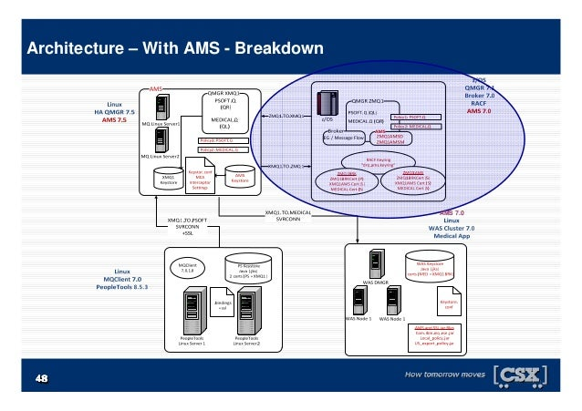 4848484848484848 Architecture – With AMS - Breakdown AMS 7.0