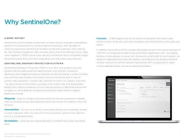 SentinelOne Buyers Guide