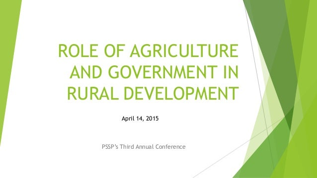 The role of science in sustainable agriculture