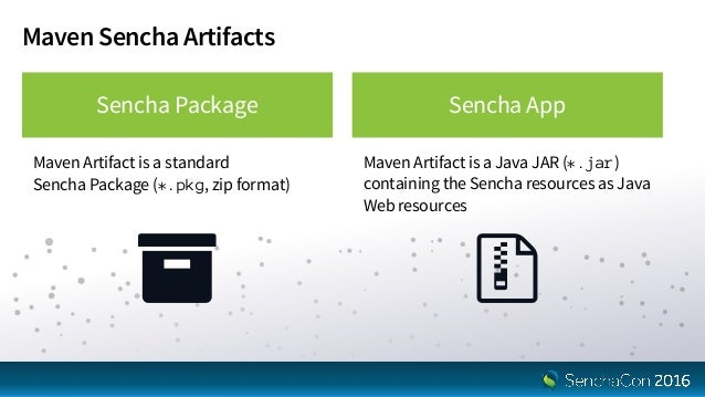 SenchaCon 2016: Building Enterprise Ext JS Apps with Mavenized Sencha…