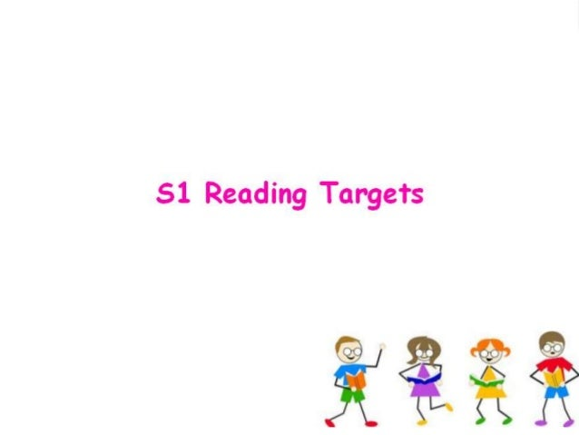 S1 Reading Targets