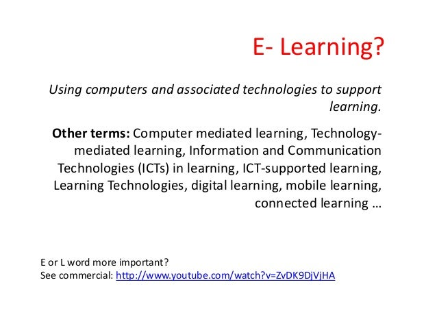 Introduction to Educational Technology Slide 2