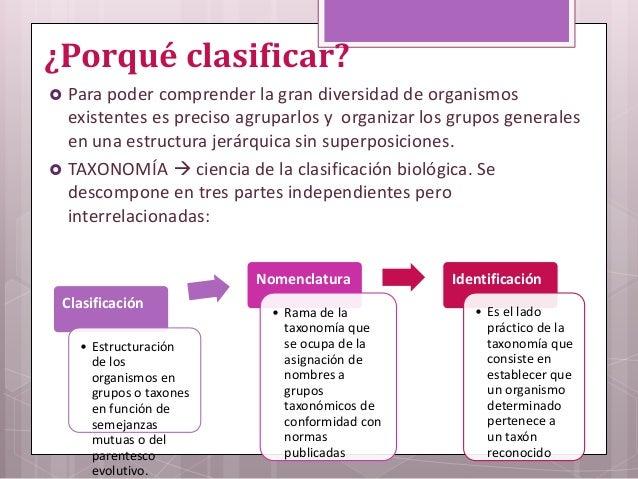 Conceptualización Del Mundo Microbiano Clasificación De