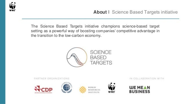 Science Based Targets Scope And Goals Of The Transport