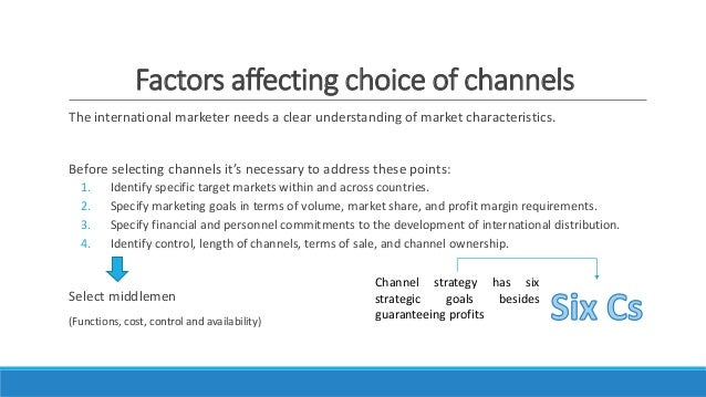 international marketing channels Importance of distribution channels - marketing channels - for national economy national and international levels.