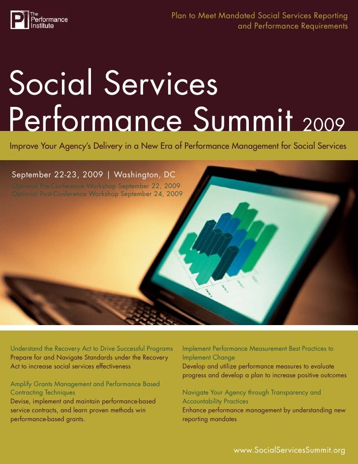The Social Services Performance Mandated Social Services Reporting                                               Plan to M...