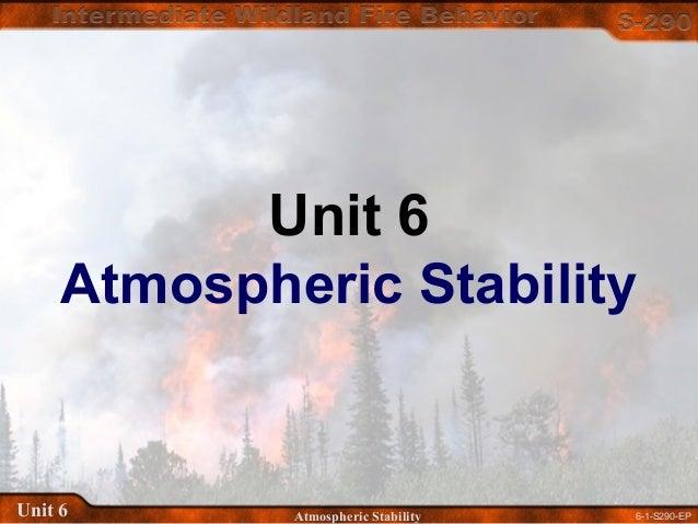 6-1-S290-EPUnit 6 Atmospheric Stability Unit 6 Atmospheric Stability