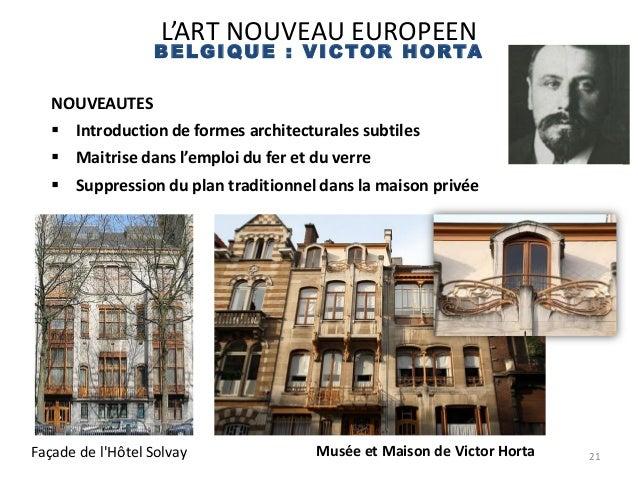 Cours l 39 art nouveau - Maison de l art nouveau ...