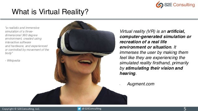 Virtual Reality in Financial Services (A Primer)