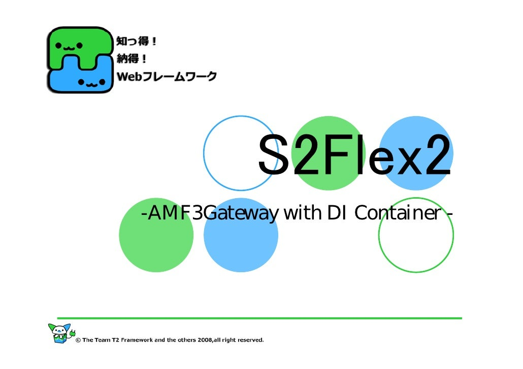 S2Flex2 -AMF3Gateway with DI Container -