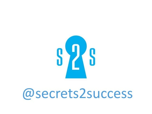@secrets2success