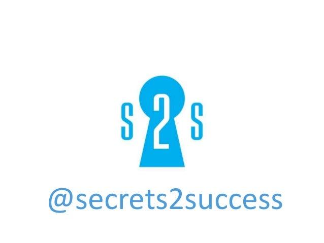 @secrets2success