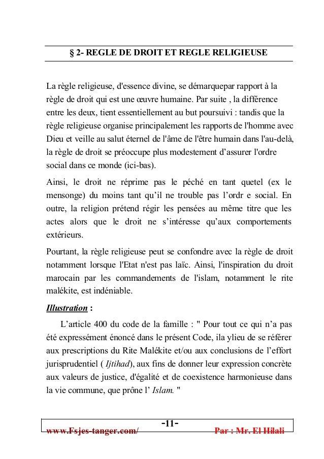 Dissertation la règle de droit et la morale. - Mots | Etudier