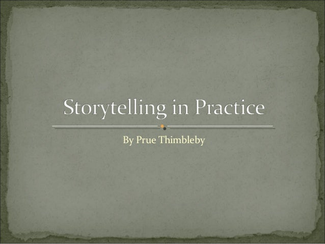 By Prue Thimbleby