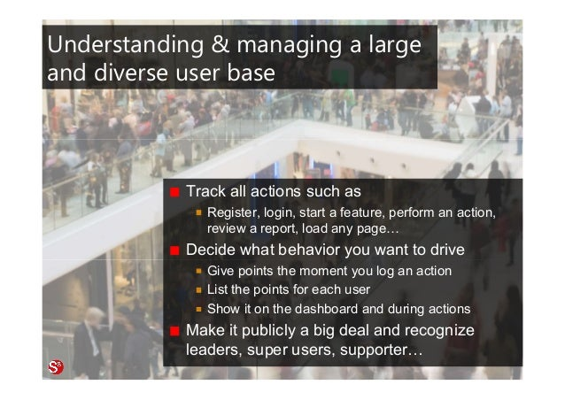 48© Copyright Society3 Refugee Accelerator 2016 #Society3 Understanding & managing a large and diverse user base Track all...
