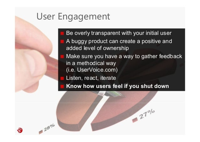 50© Copyright Society3 Refugee Accelerator 2016 #Society3 User Engagement Be overly transparent with your initial user A b...