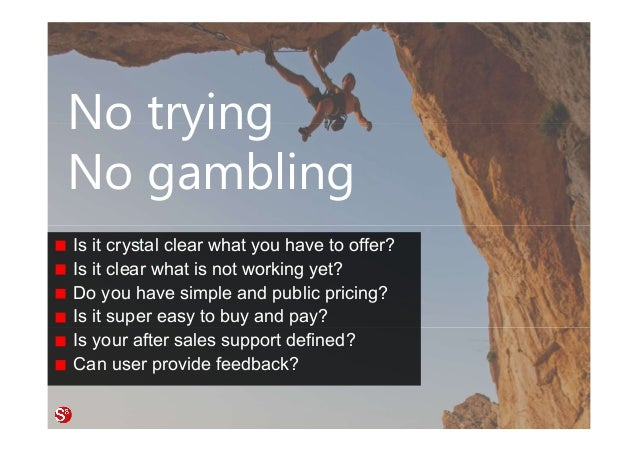 52© Copyright Society3 Refugee Accelerator 2016 #Society3 No trying No gambling Is it crystal clear what you have to offer...