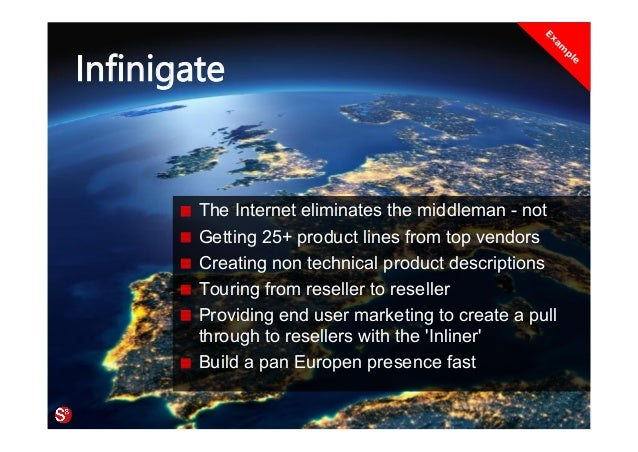 57© Copyright Society3 Refugee Accelerator 2016 #Society3 Infinigate The Internet eliminates the middleman - not Getting 2...