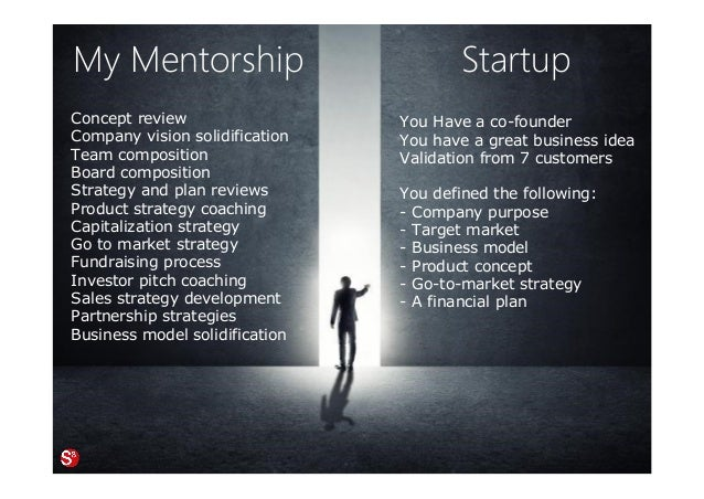 Startup You Have a co-founder You have a great business idea Validation from 7 customers You defined the following: - Comp...