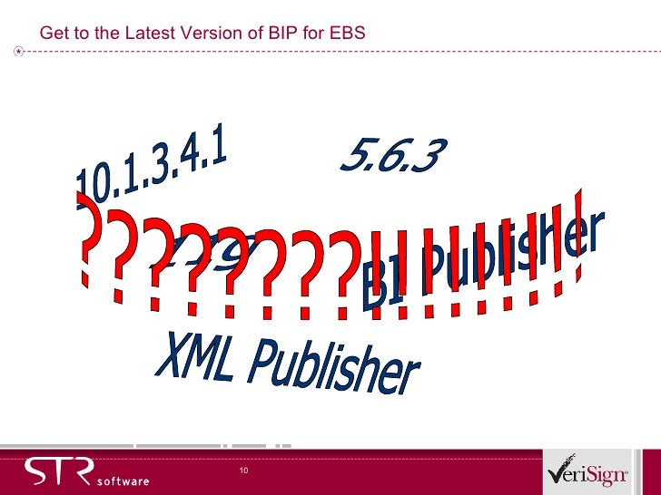 Best Implementation Practices with BI Publisher