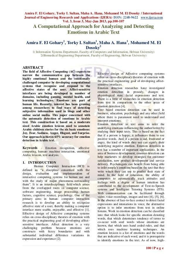 Amira F. El Gohary, Torky I. Sultan, Maha A. Hana, Mohamed M. El Dosoky / InternationalJournal of Engineering Research and...