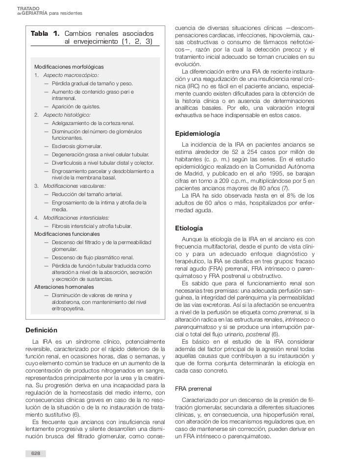 TRATADOde GERIATRÍA para residentes                                                                  cuencia de diversas s...