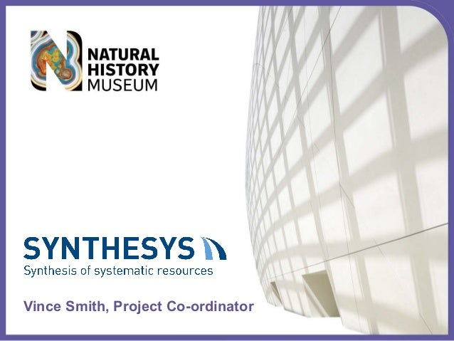 Vince Smith, Project Co-ordinator