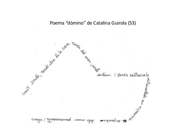 "Poema ""dòmino"" de Catalina Guirola (S3)"