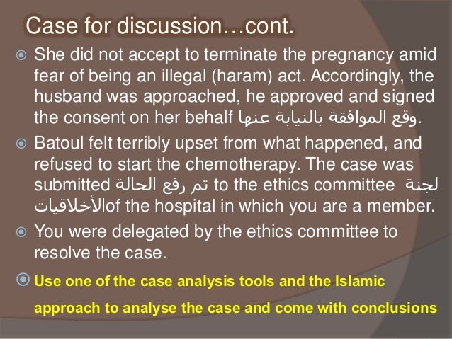 Seminar 1- Example of ethical case analysis (27 02 2017)