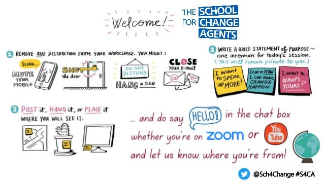 The School for Change Agents LIVE session 1 18 May 2021 Slide 2