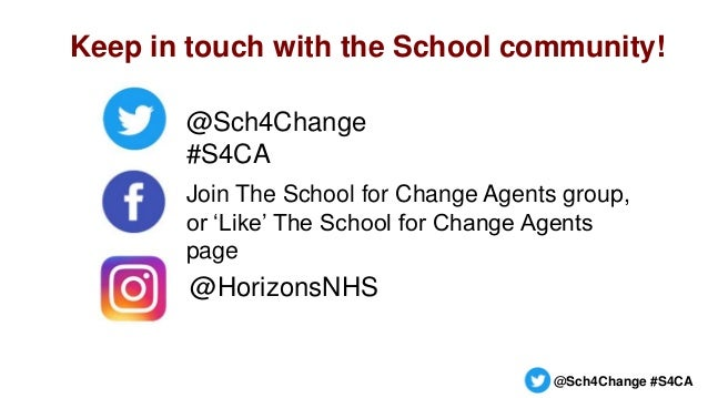 The School for Change Agents LIVE session 1 18 May 2021 Slide 3