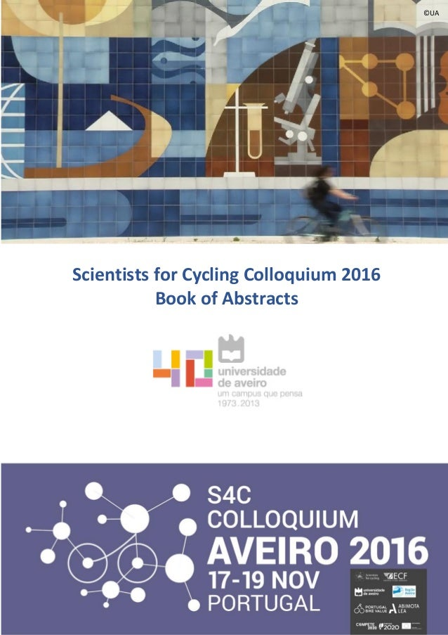 S4c book of abstracts 1 scientists for cycling colloquium 2016 book of abstracts ua fandeluxe Images