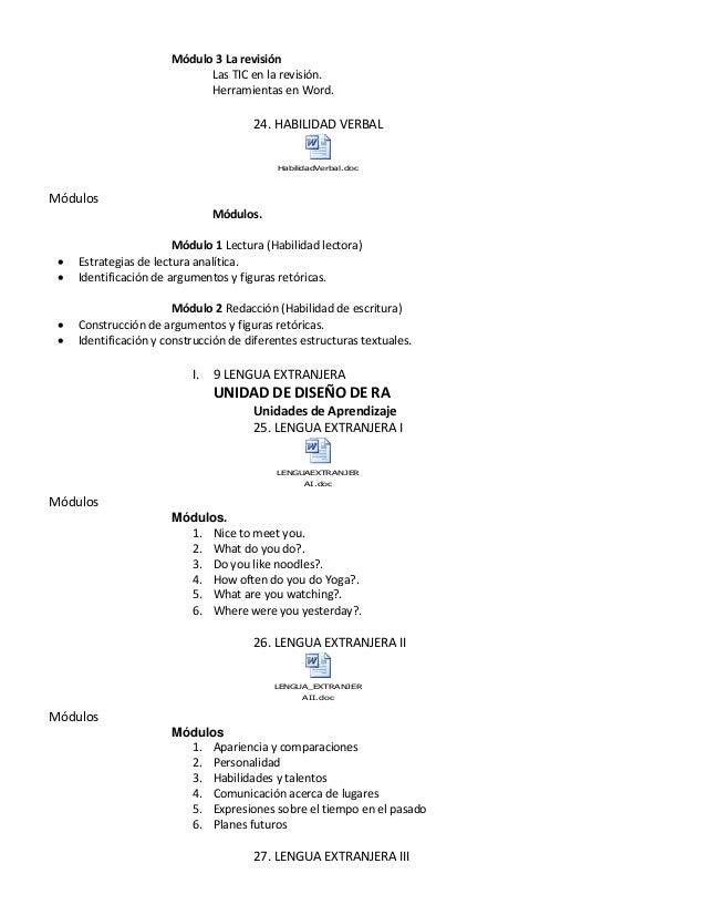 Módulo 3 La revisión Las TIC en la revisión. Herramientas en Word. 24. HABILIDAD VERBAL HabilidadVerbal.doc Módulos Módulo...