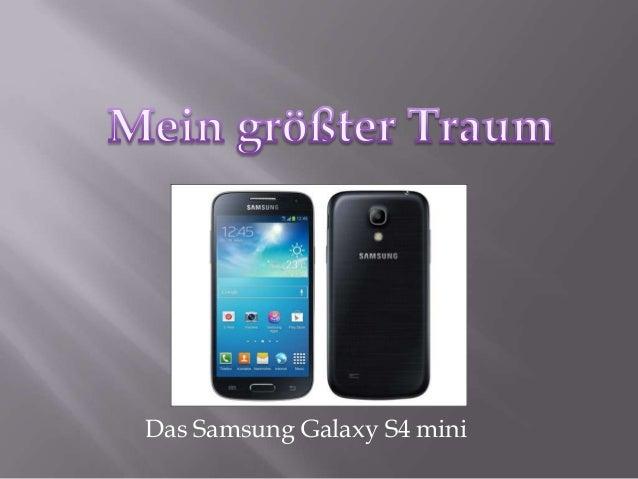 Das Samsung Galaxy S4 mini