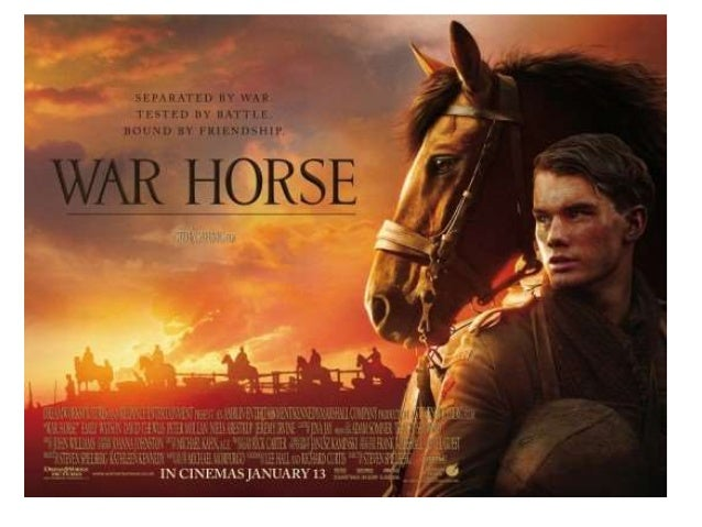 war horse movie analysis essay Steven spielberg's war horse is a different type of war movie that focuses on  animals instead of people the following are some thoughts with.