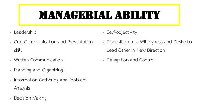 Managing concepts