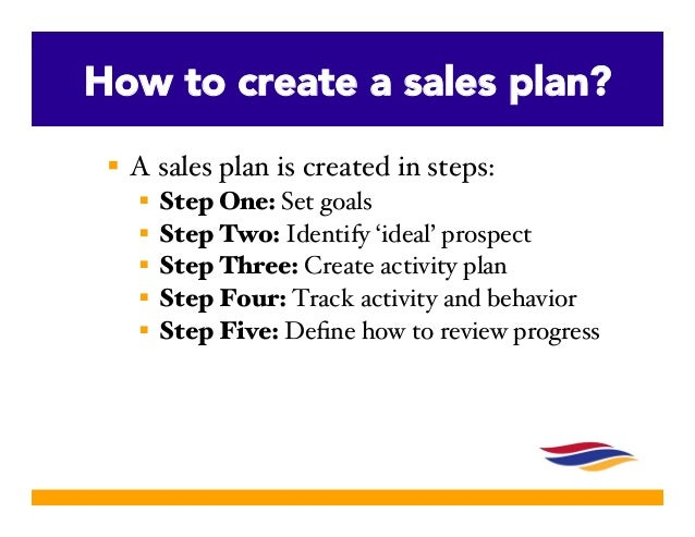 Creating a successful sales plan slideshare edition for How to make a good planner