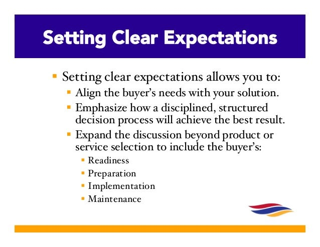 Setting Expectations For Sales Succes The Example Of Jesus
