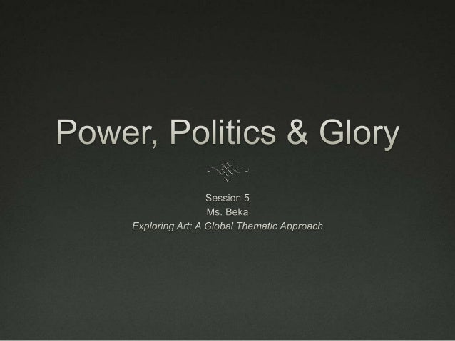 Function of Art Rulers and governments use art to celebrate andspread their earthly power. Art is also used inwar, either...