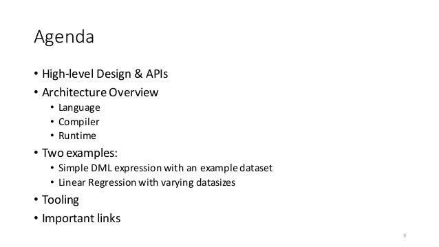 Apache SystemML Architecture by Niketan Panesar Slide 3