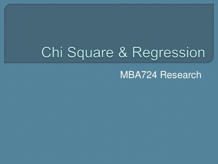 MBA724 Research