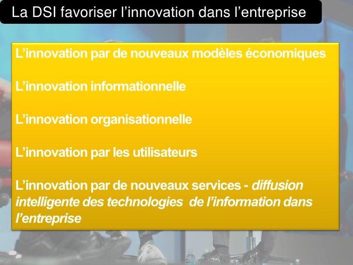 Gestion de linnovation for Idee innovation entreprise