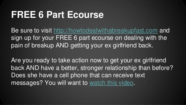 Get your ex girlfriend back quiz