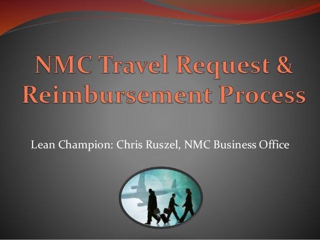 Lean Champion: Chris Ruszel, NMC Business Office
